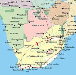 Südafrika Karte Sehenswürdigkeiten.Sabona Holidays Südafrika Namibia Ferienwohnungen In Der Schweiz